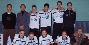 het eerste team dat zich in 2001 keurig handhaaft