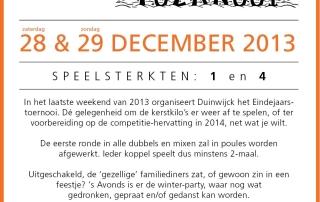 Duinwijck Open 2013