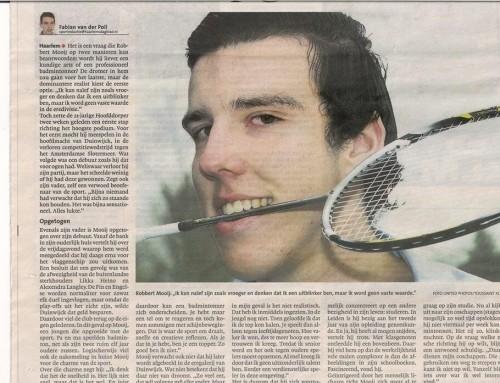 """Uit de media """"Arts of badmintonner?"""""""