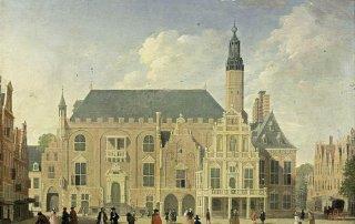 Jan-ten-Compe-Haarlem-Zicht-op-het-stadhuis-i5909
